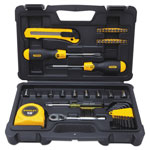 Stanley Bostitch 51-Piece Mixed Tool Set