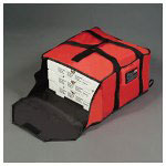 Rubbermaid Pizza Delivery Bag, Large, Red