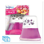 Bright Air Scented Oil Air Freshener Diffuser, Fresh Petals & Peach, 2.5 oz