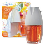 Bright Air Electric Scented Oil Warmer/Refill Combo, Hawaiian Blossoms/Papaya,0.67oz Refill