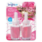 Bright Air Electric Scented Oil Refill, Cherry Blossom/Magnolia, 0.67oz Jar, 2/Pack