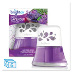 Bright Air Scented Oil Air Freshener Sweet Lavender & Violet, 2.5 oz, 6/Carton