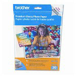 Brother Premium Glossy Inkjet Photo Paper , 9 mil, 8 1/2 x 11, 20 Sheets