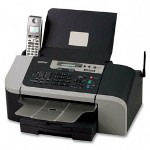 Brother IntelliFax Machine 1960C Plain Paper Inkjet Fax Machine & Copier