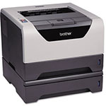 Brother HL5370DWT Monochrome Laser Printer with Wireless Networking and Duplex Printing