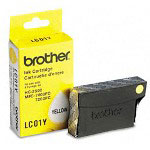 Brother LC01Y Yellow Ink Cartridge, 300 Pages