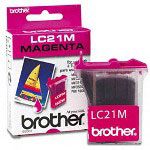 Brother LC21M Magenta Ink Jet Cartridge, 450 Pages