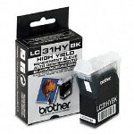 Brother LC31HYBK High Yield Black Print Cartridge, 900 Pages