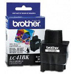 Brother LC41BK Black Ink Jet Cartridge, 500 Pages