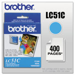 Brother LC51C Cyan Inkjet Cartridge For MFC-240C Multi-Function Printer