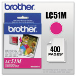 Brother LC51M Magenta Inkjet Cartridge For MFC-240C Multi-Function Printer