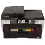 Brother MFC6890CDW Color Multifunction Inkjet Printer with Wireless Networking and Duplex Printing
