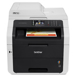 "Brother Multifunction Printer,23PPM,250Sht Cap,23""x21""x22-1/5"",BKWE"