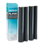 Brother PC-402RF Thermal Transfer Refill Rolls for Plain Paper Fax Machines