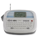 "Brother PT 80 Home and Hobby Label Maker, Battery, 3/8"" & 1/2"" M Tape"