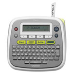 "Brother P-Touch PT-D200 Label Maker, 2 Lines, 6-1/2""wx6-1/2""dx10-3/8""h"