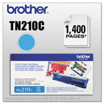 Brother TN210C Toner, 1400 Page-Yield, Cyan
