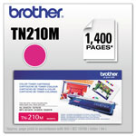 Brother TN210M Toner, 1400 Page-Yield, Magenta