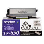 Brother TN650 High-Yield Black Toner, 8,000 Pages