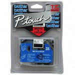 "Brother P Touch® TZ Tape Cartridge, TZ Standard Laminated Tape, Blue on White, 3/4""W"