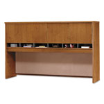 Bush Series C Collection 72W Four-Door Hutch, Box 2 of 2, Natural Cherry