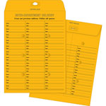 "Business Source Envelopes, Inter-Dept, Stand, No.28, 10"" x 13"", 100/BX, BKFT"