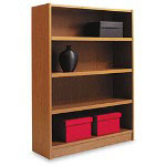 Basyx by Hon Heavy Duty Signature Series Bookcase, 4 Shelves, 36w x 11 3/4d x 48h, BBC
