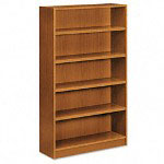 Basyx by Hon Heavy Duty Signature Series Bookcase, 5 Shelves, 36w x 11 3/4d x 60h, BBC