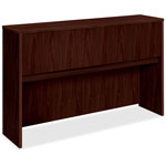 Basyx by Hon Laminate Hutch With Four Doors, 60w x 14-5/8d x 37-1/8h, Mahogany