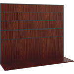 "Basyx by Hon Work Wall, 60""x17""x50"", Chestnut"