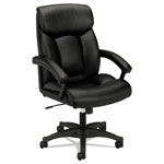 "Basyx by Hon VL151 Executive Chair, 20-1/2"" x 18-5/8"" x 27-1/4"", Black"