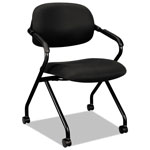 Hon Nesting Chair, Black/Black Frame