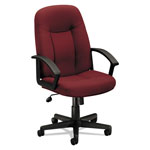 "Basyx by Hon Managerial Mid Back Chair, 26"" x 33 1/2"" x 43"", Burgundy"