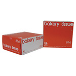 "Durable Packaging International 6""x10-3/4"" Interfolded Bakery Tissue"
