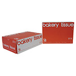 "Durable Packaging International 8""x10-3/4"" Interfolded Bakery Tissue"