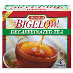 Bigelow Tea Company Single Flavor Tea, Decaffeinated Black, 48 Bags/Box