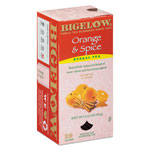 Bigelow Tea Company Orange and Spice Herbal Tea, 28/Box