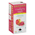 Bigelow Tea Company Cranberry Apple Herbal Tea, 28/Box