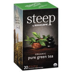 Bigelow Tea Company steep Tea, Pure Green, 0.91 oz Tea Bag, 20/Box