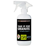 Better Life TAKE IT FOR GRANITE Stone Cleaner, Pomegranate Grapefruit, 16oz Bottle