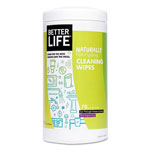 Better Life All Purpose Wipes, Clary Sage & Citrus, 7 x 8, 70/Canister