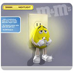"Brands Unlimited M&M Yellow ""Shhh"" Night Light"