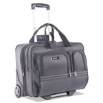 "bugatti Harry Business Case on Wheels, 8.25"" x 8.25"" x 13.5"", Polyester, Black"