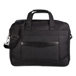 "bugatti Gregory Convertible Executive Briefcase, 16.25"" x 4.25"" x 11.5"", Nylon, Black"