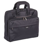 "bugatti Mitchell Executive Briefcase, 16"" x 4"" x 12.25"", Ballistic Nylon, Black"