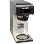 Bulman Products Coffee Brewer VP17-1, 12-Cup, Stainless Steel