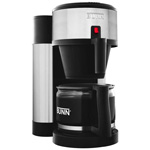 Bunn-O-Matic Professional Home Coffee Brewer with Carafe, 10 Cup, Black