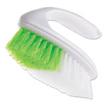 "Butler Iron Handle Brush, 5 3/4"" Brush, 1 1/4"" Bristles, White/Green, 4/Box"