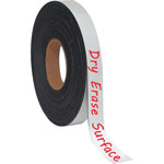 "Bi-silque Visual Communication Product Inc Magnetic Adhesive Tape Roll, Black, 1"" x 4 Ft."