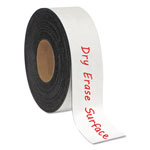 "Bi-silque Visual Communication Product Inc Dry Erase Magnetic Tape Roll, White, 2"" x 50 Ft."